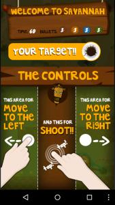 Instrucciones del videojuego